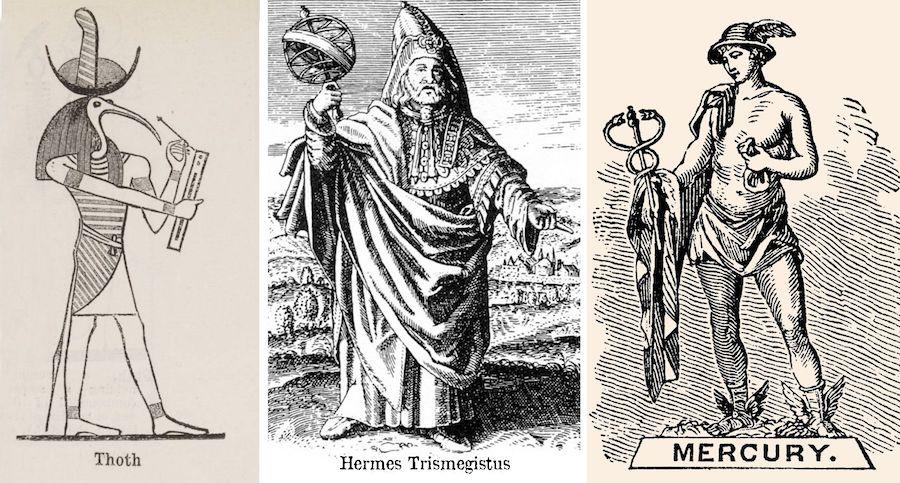 هرمس الهرامسة - Hermes Trismegistus